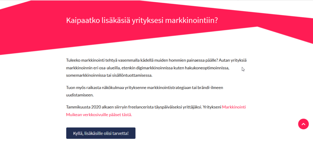 Viivivaisanen.fi etusivu