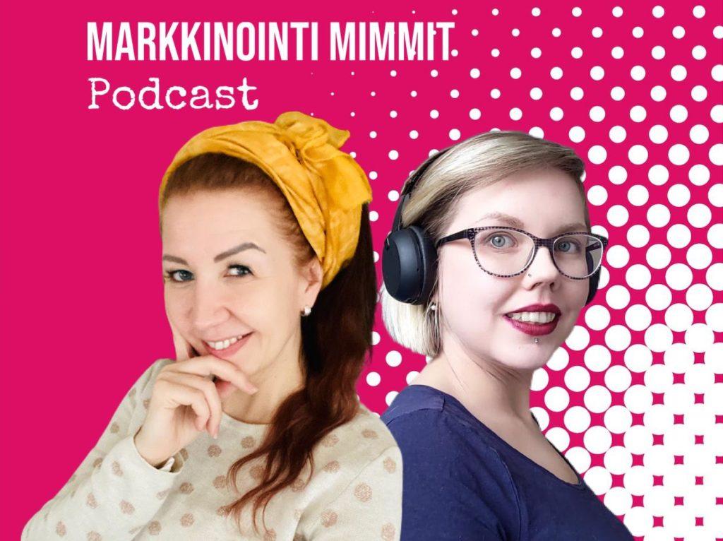 Markkinointi Mimmit Johanna Elola ja Viivi Väisänen